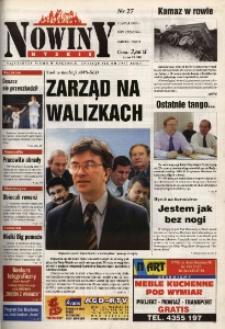 Nowiny Nyskie 2001, nr 27.