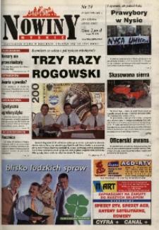 Nowiny Nyskie 2001, nr 34.