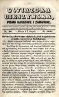 Gwiazdka Cieszyńska, 1851, nr 18