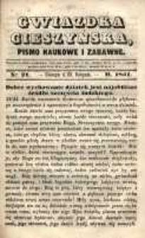 Gwiazdka Cieszyńska, 1851, nr 21