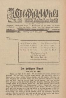 Die Kinderwelt, 1938, Jg. 12, Nr. 11