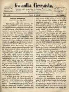 Gwiazdka Cieszyńska, 1855, nr 18
