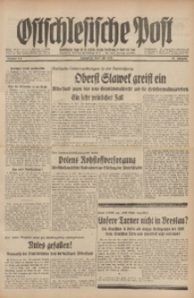 Ostschlesische Post, 1938, Jg. 29, Nr. 167