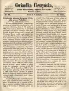 Gwiazdka Cieszyńska, 1855, nr 46