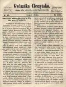 Gwiazdka Cieszyńska, 1855, nr 47
