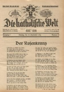 Die Katholische Welt, 1934, Jg. 9, Nr. 39
