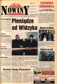 Nowiny Nyskie 2000, nr 12.