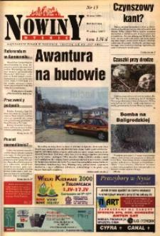 Nowiny Nyskie 2000, nr 13.