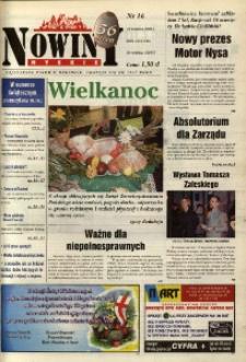 Nowiny Nyskie 2000, nr 16.