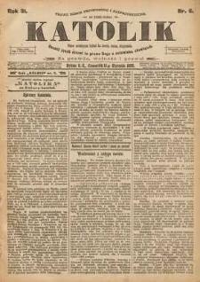Katolik, 1898, R. 31, nr 6