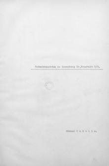 Totenbrauchtum in Rosenberg Kr. Neustadt O/S.
