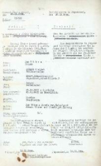 Metryka urodzenia wystawiona w 1934 r.