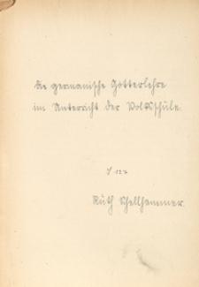 Die germanische Götterlehre im Unterricht der Volksschule