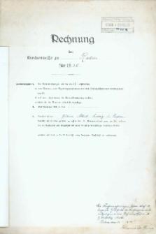 Rachunki kościoła w Radyni z 1938 r.