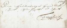 Korespondencja różnych osób z dnia 19 września 1814 r.