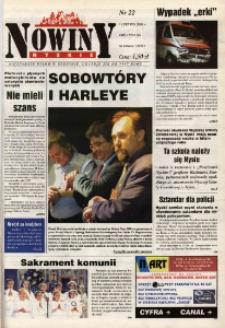 Nowiny Nyskie 2000, nr 22.