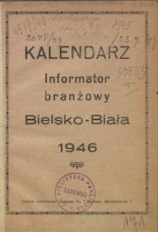 Kalendarz Informator Branżowy Bielsko-Biała, 1946