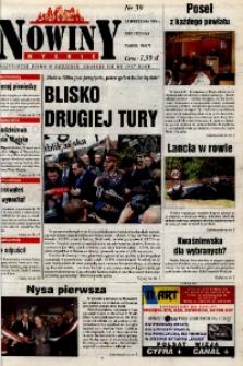 Nowiny Nyskie 2000, nr 39.