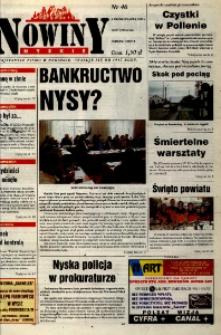 Nowiny Nyskie 2000, nr 40.