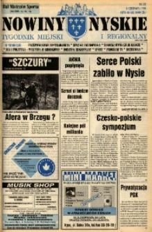 Nowiny Nyskie : tygodnik miejski i regionalny 1995, nr 23.