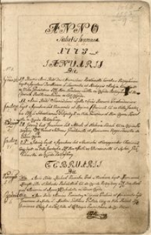 Księga metrykalna chrztów kościoła parafialnego w Koziegłowach. Wpisy za lata 1773-1795