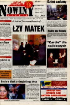 Nowiny Nyskie 2000, nr 44.