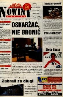 Nowiny Nyskie 2000, nr 45.