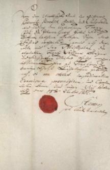 Korespondencja różnych osób z 18 września 1802 r.