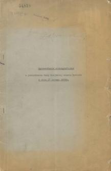 Sprawozdanie stenograficzne z posiedzenia Rady Miejskiej miasta Katowic z dnia 17 lutego 1936 r.