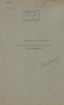 Sprawozdanie stenograficzne z posiedzenia Rady Miejskiej miasta Katowic z dnia 12 listopada 1936 r.