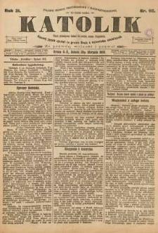Katolik, 1898, R. 31, nr 98