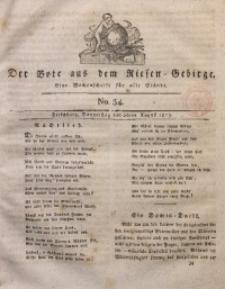 Der Bote aus dem Riesen-Gebirge, 1813, Jg. 2, No. 34