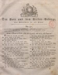 Der Bote aus dem Riesen-Gebirge, 1813, Jg. 1, No. 41