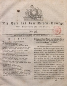 Der Bote aus dem Riesen-Gebirge, 1813, Jg. 2, No. 46