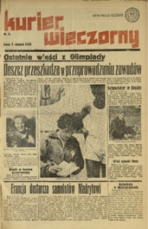 Kurier Wieczorny, 1936, nr 5
