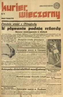 Kurier Wieczorny, 1936, nr 11