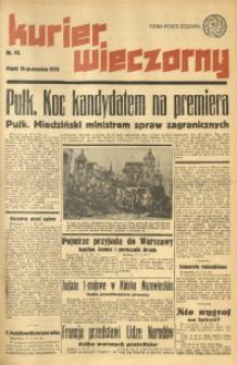 Kurier Wieczorny, 1936, nr 45