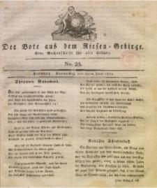 Der Bote aus dem Riesen-Gebirge, 1814, Jg. 3, No. 25