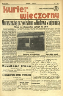 Kurier Wieczorny, 1938, R. 3, nr 19