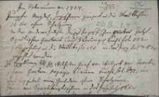 Wypis z urbarza miasta Cieszyna z 1727 r. na temat opłat do kasy miejskiej od ogrodu panny Magdaleny Jagosz oraz Wilhelma hrabiego Wilczka od ogrodu Franka