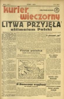 Kurier Wieczorny, 1938, R. 3, nr 77