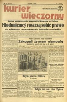 Kurier Wieczorny, 1938, R. 3, nr 113