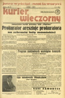 Kurier Wieczorny, 1938, R. 3, nr 116