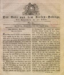 Der Bote aus dem Riesen-Gebirge, 1816, Jg. 4, No. 31
