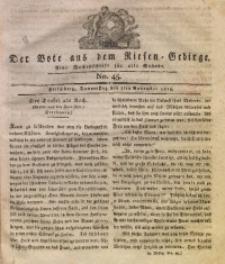 Der Bote aus dem Riesen-Gebirge, 1816, Jg. 4, No. 45