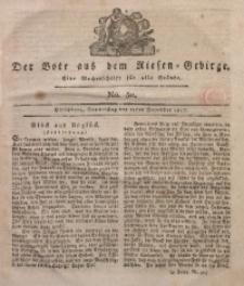 Der Bote aus dem Riesen-Gebirge, 1817, Jg. 5, No. 50