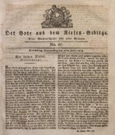 Der Bote aus dem Riesen-Gebirge, 1818, Jg. 6, No. 27