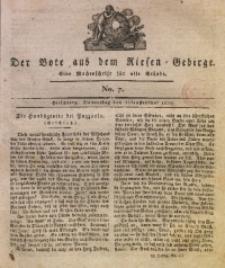 Der Bote aus dem Riesen-Gebirge, 1819, Jg. 7, No. 7