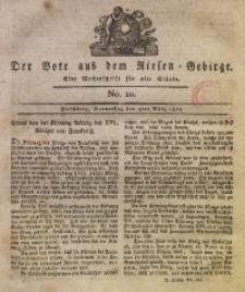 Der Bote aus dem Riesen-Gebirge, 1819, Jg. 7, No. 10