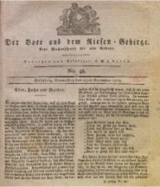 Der Bote aus dem Riesen-Gebirge, 1819, Jg. 7, No. 48